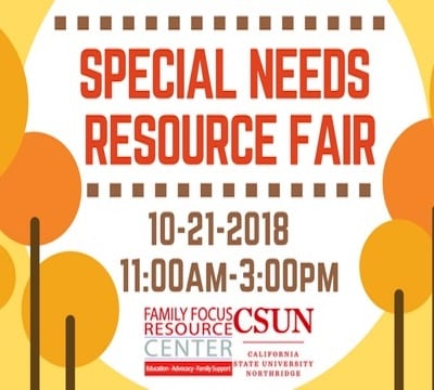CSUN Family Focus Resource Fair
