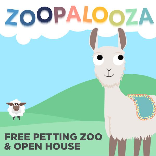 Zoopalooza: Petting Zoo & Open House