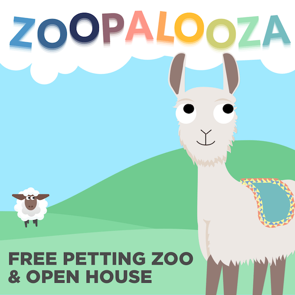 Zoopalooza - Petting Zoo & Open House