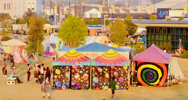 14th Annual L.A. Burning Man Decompression Art & Music Festival