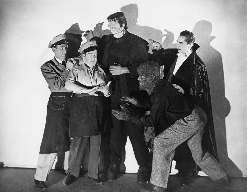Hammer Kids Family Flick: Abbott and Costello Meet Frankenstein