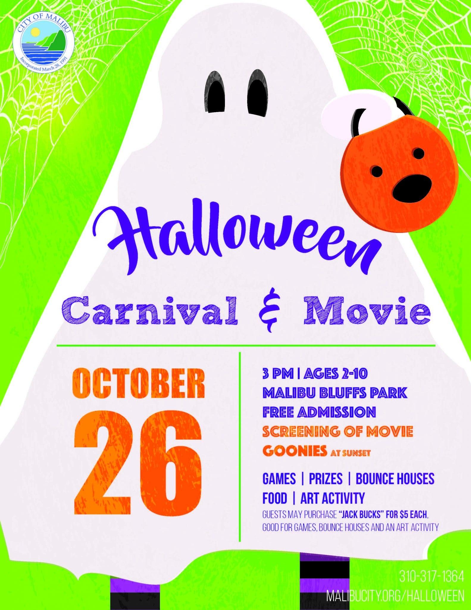 Malibu Halloween Carnival & Movie