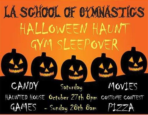 Halloween Haunt Gym Sleepover