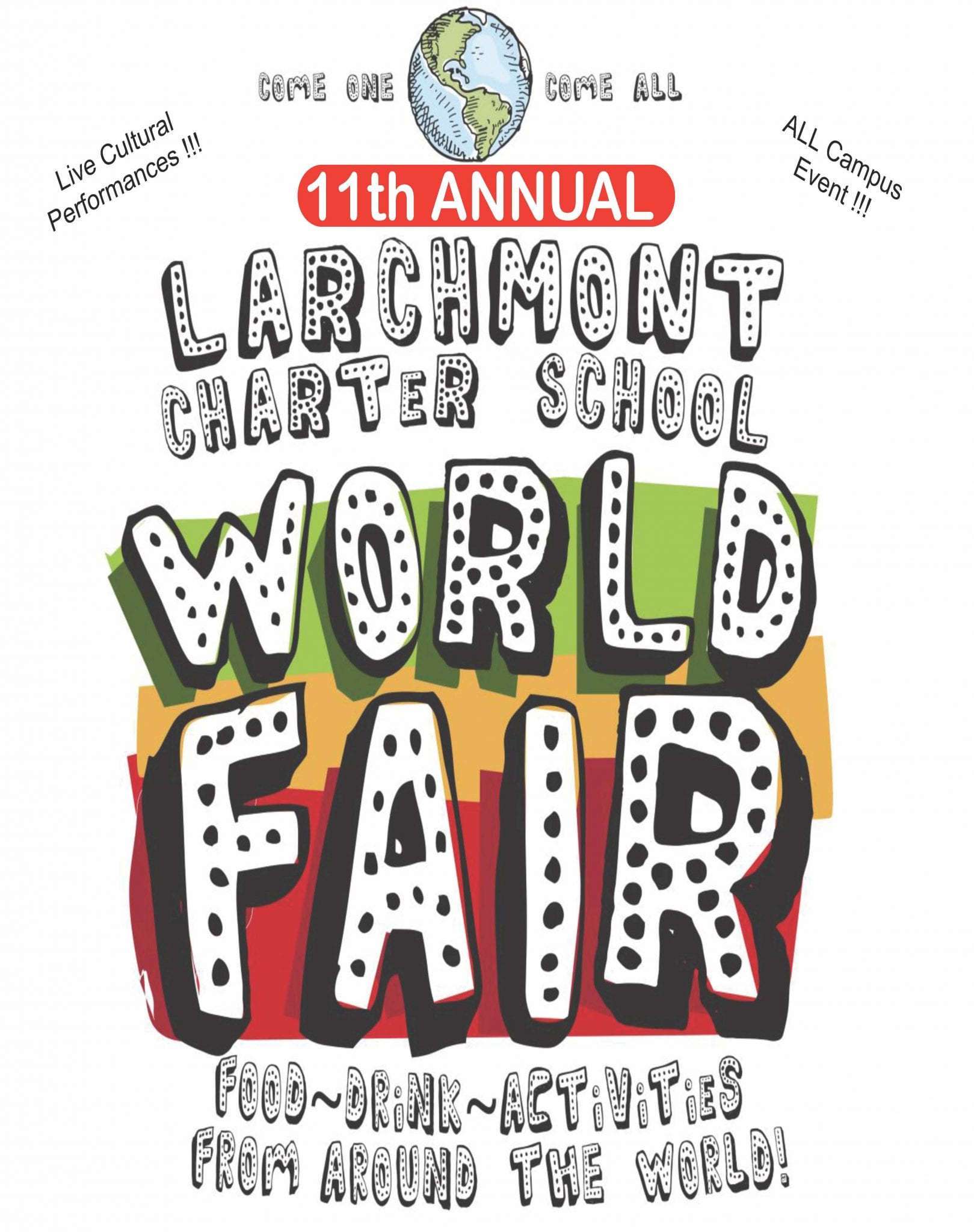 Larchmont Charter School World's Fair