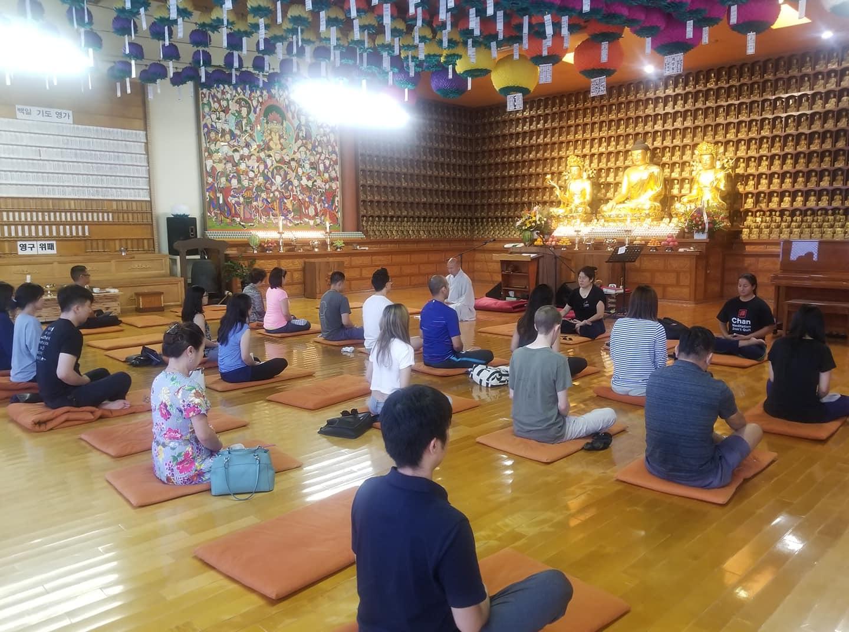 Learn Chan Meditation in Korea Town