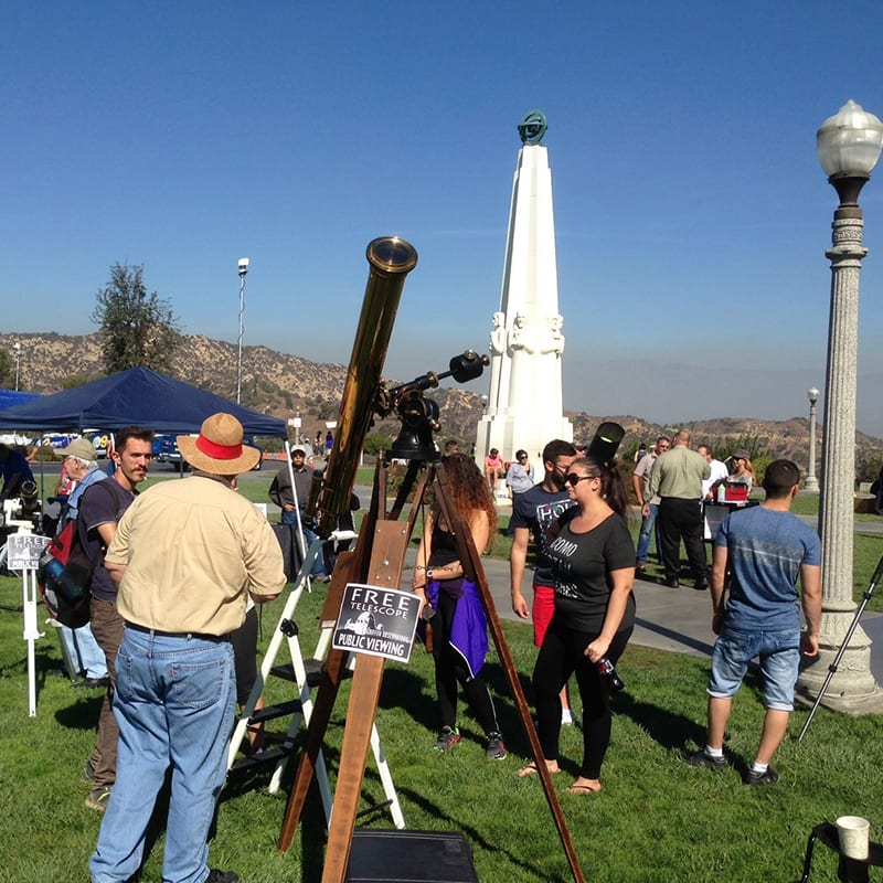 Griffith Observatory's Star Party