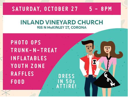 Inland Vineyard Church's Harvest Festival
