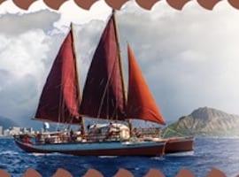 Polynesian Voyaging Canoe Visits Redondo Beach