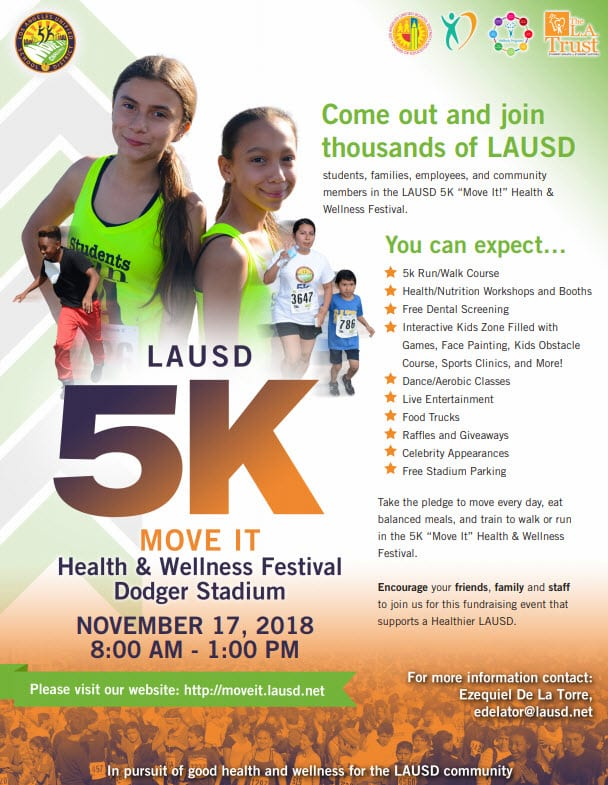 LAUSD Move It! Health and Wellness Festival