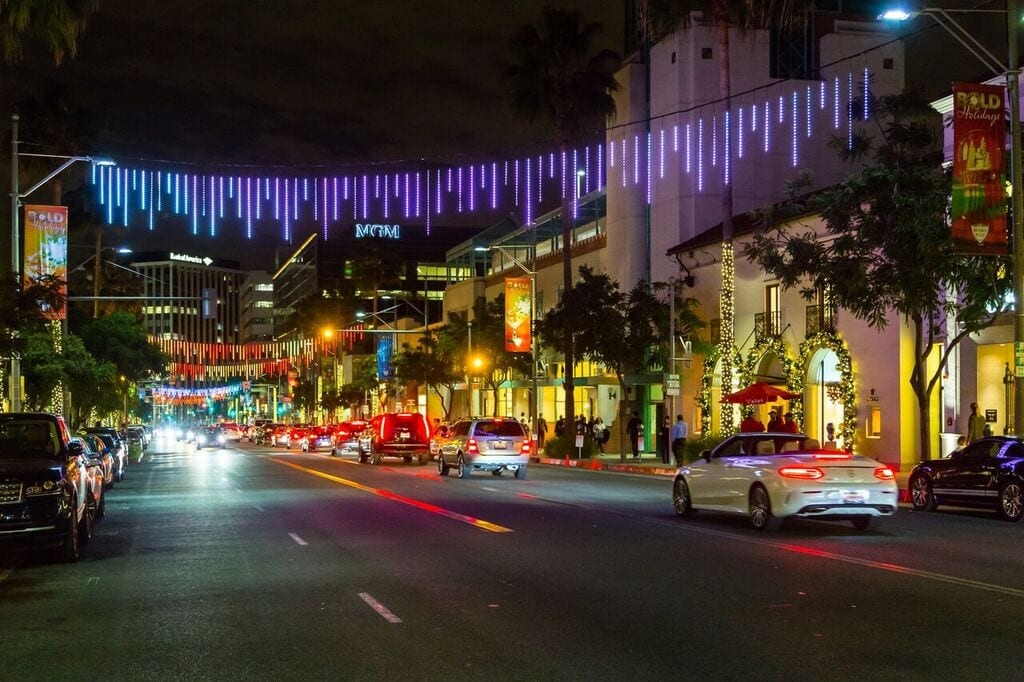 Beverly Hills' BOLD Holiday Rides