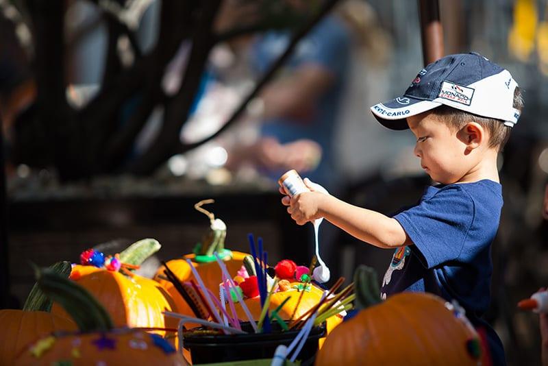 One Colorado's Annual Pumpkin Decorating!