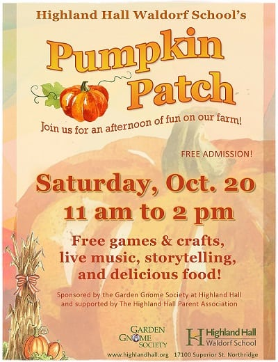 Highland Hall Waldorf School Pumpkin Patch