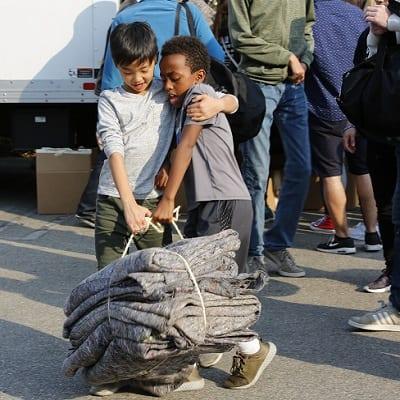 holiday volunteering in Los Angeles
