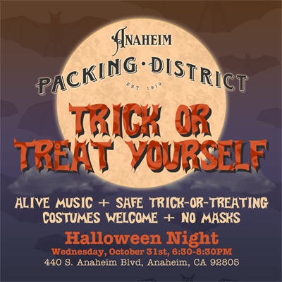 Trick or Treat Yourself at the Packing District