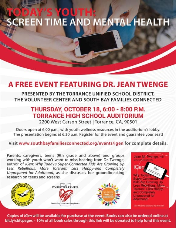 Today's Youth: Screen Time and Mental Health with Jean Twenge
