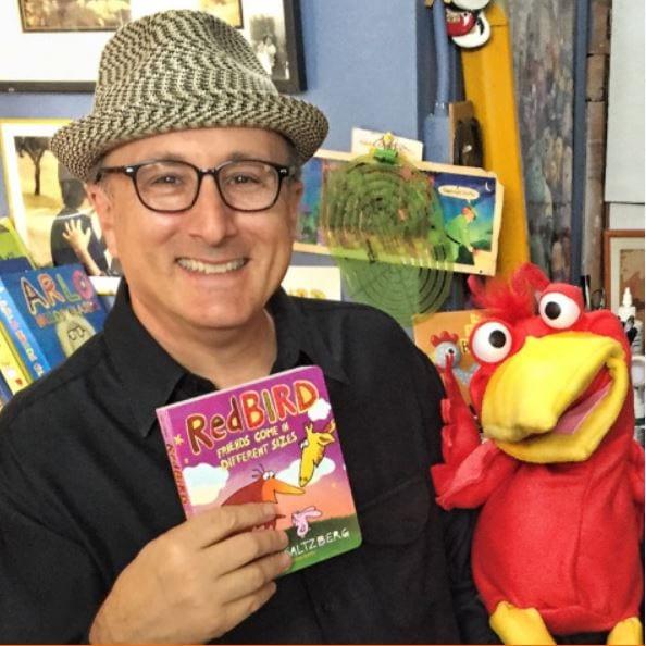 Author Visit: Barney Saltzberg