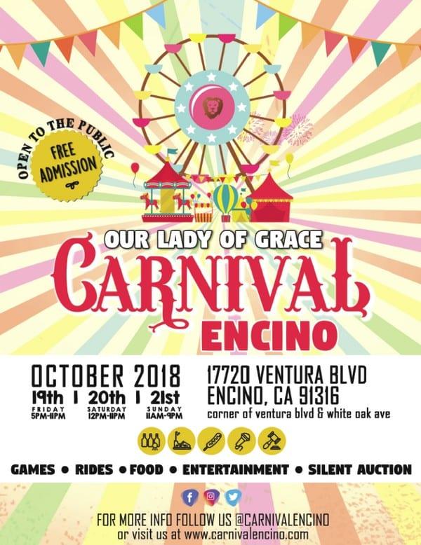 Carnival Encino 2018