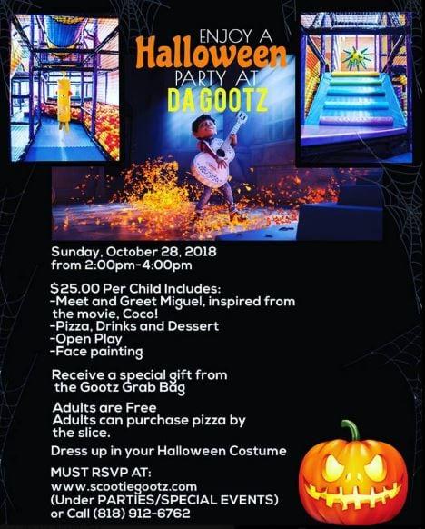 Halloween Party at Scootie Gootz