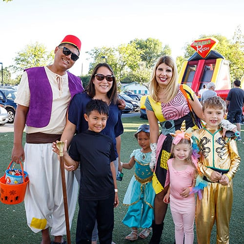 Shepherd of the Valley's Trunk or Treat 2018