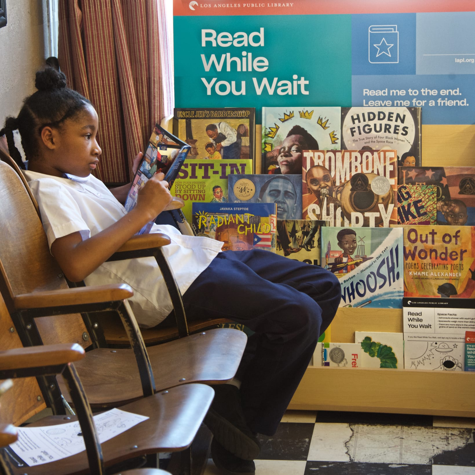 lapl's read while you wait