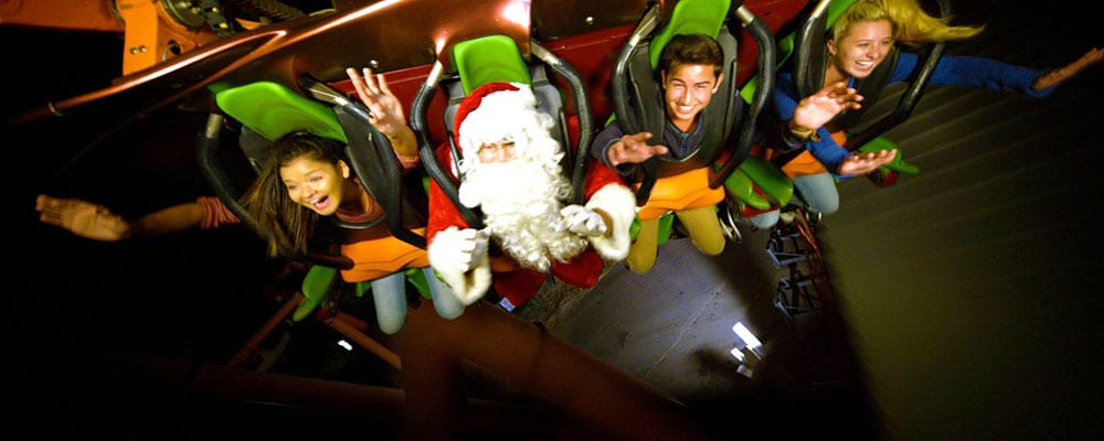 Six Flags Magic Mountain's Holiday in the Park!