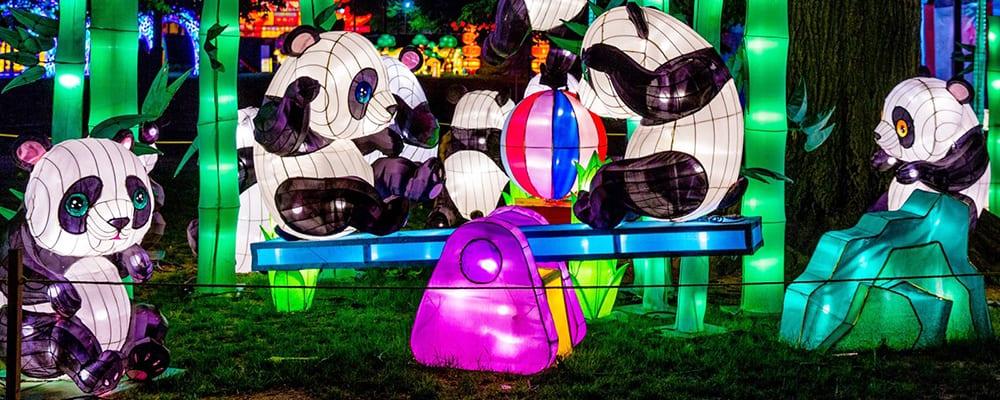Moonlight Forest: Magical Lantern Art Festival