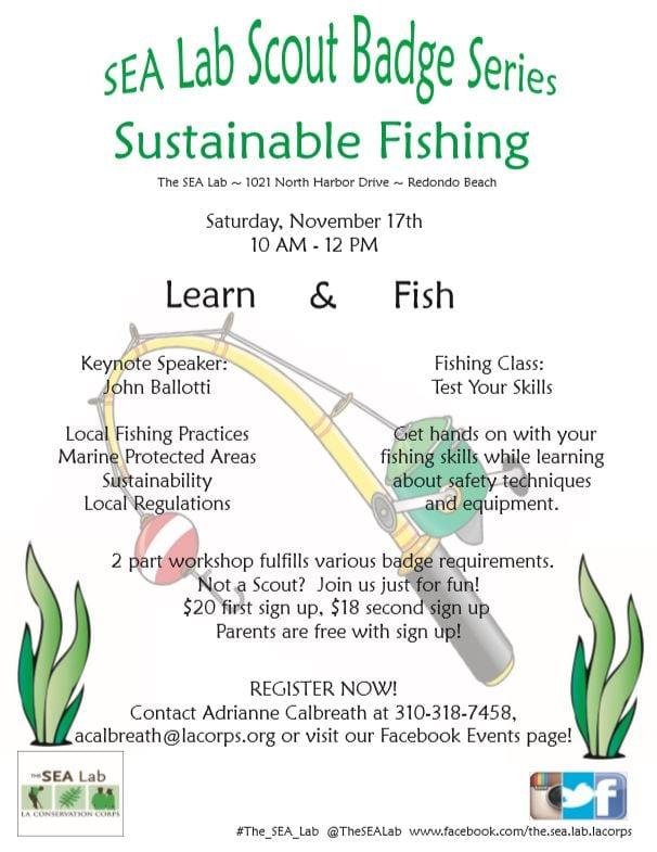 SEA Lab Badge Series: Sustainable Fishing