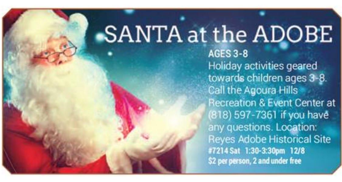 Volunteers for Santa @ the Adobe