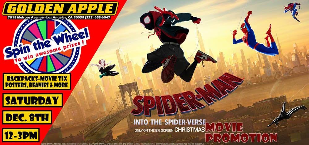 Spider-Man: Into The Spider-Verse Movie Promotion