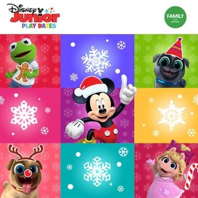 Disney Jr. Holiday Fun at Center Court!