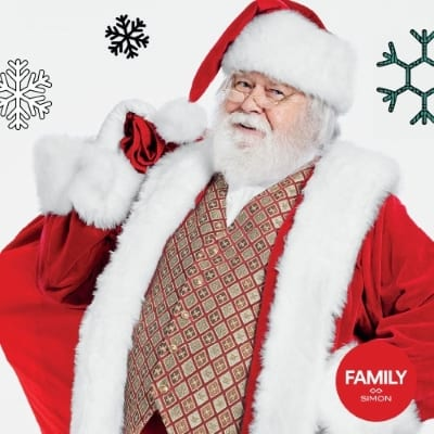 Del Amo Fashion Center's Santa Photo Experience