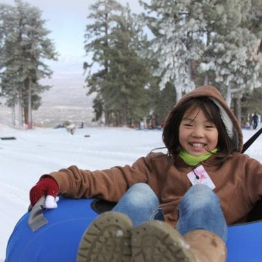 snow activities in southern california