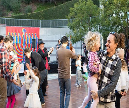 Skirball's Hanukkah Family Festival