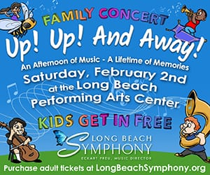 Long Beach Symphony Family Concert: Up! Up! And Away!
