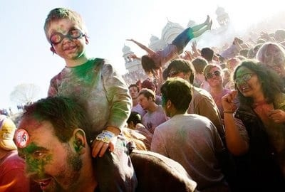 Holi Festival of Colors SF Valley
