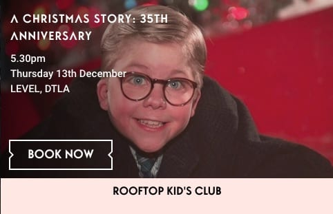 A Christmas Story Kid Now.Holiday Movie On The Roof A Christmas Story L A Parent