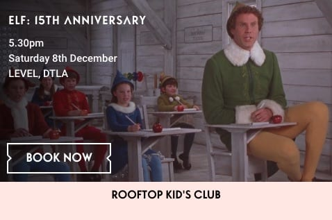 Holiday Movie on the Roof: Elf