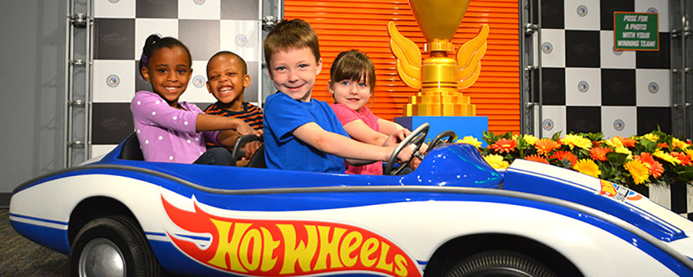 Hot Wheels Race To Win Exhibit