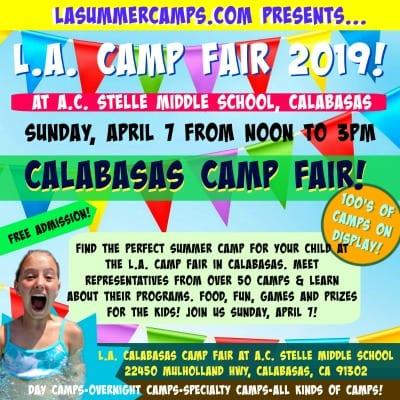 L.A. Calabasas Summer Camp Fair and Expo 2019