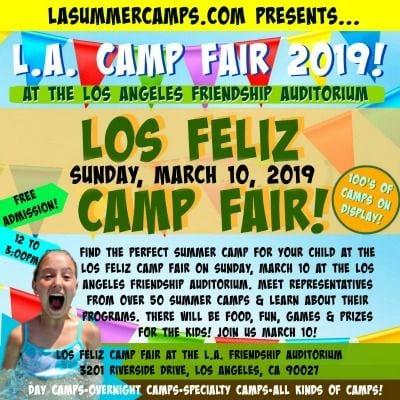 Los Feliz Griffith Park Summer Camp Fair
