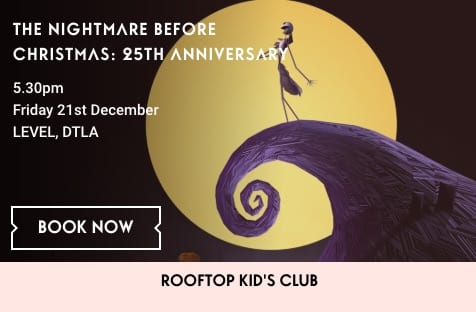 Holiday Movie on the Roof: The Nightmare Before Christmas