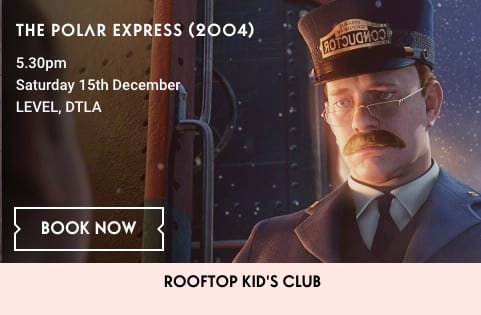 Holiday Movie on the Roof: The Polar Express