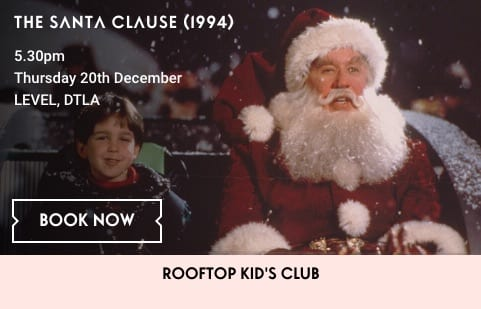 Holiday Movie on the Roof: The Santa Clause