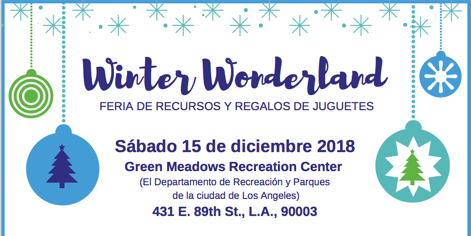 Winter Wonderland: Resource Fair and Toy Giveaway