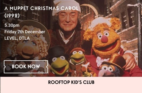 Holiday Movie on the Roof: A Muppet Christmas Carol