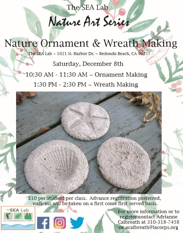 Nature Art Series: Ornament & Wreath Making