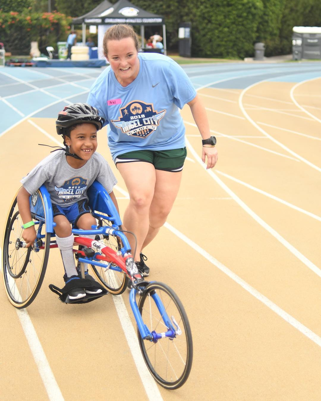 Adaptive Track and Field Clinic