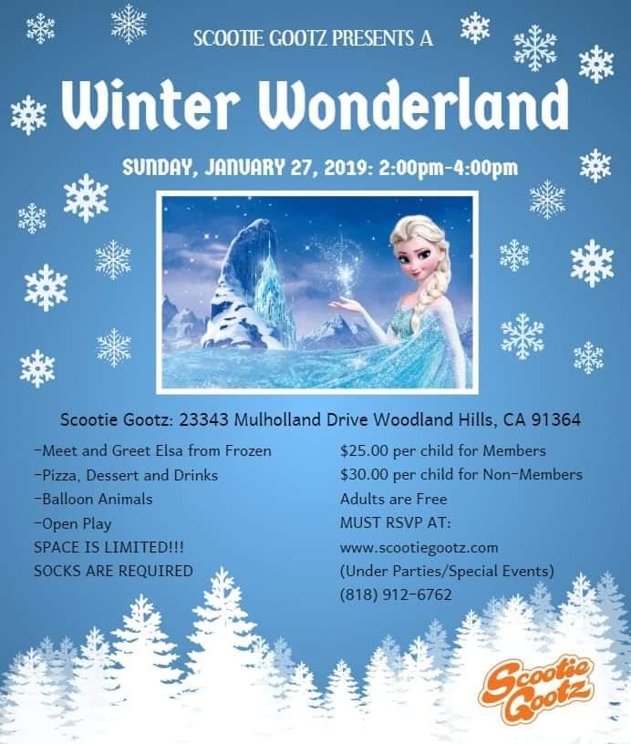 Winter Wonderland with Elsa from Frozen