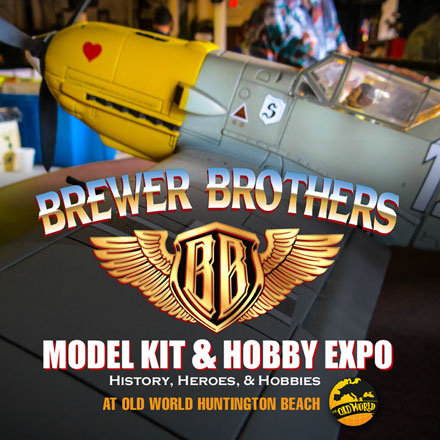 Brewer Brothers' Model Kit, Hobby and Toy Expo