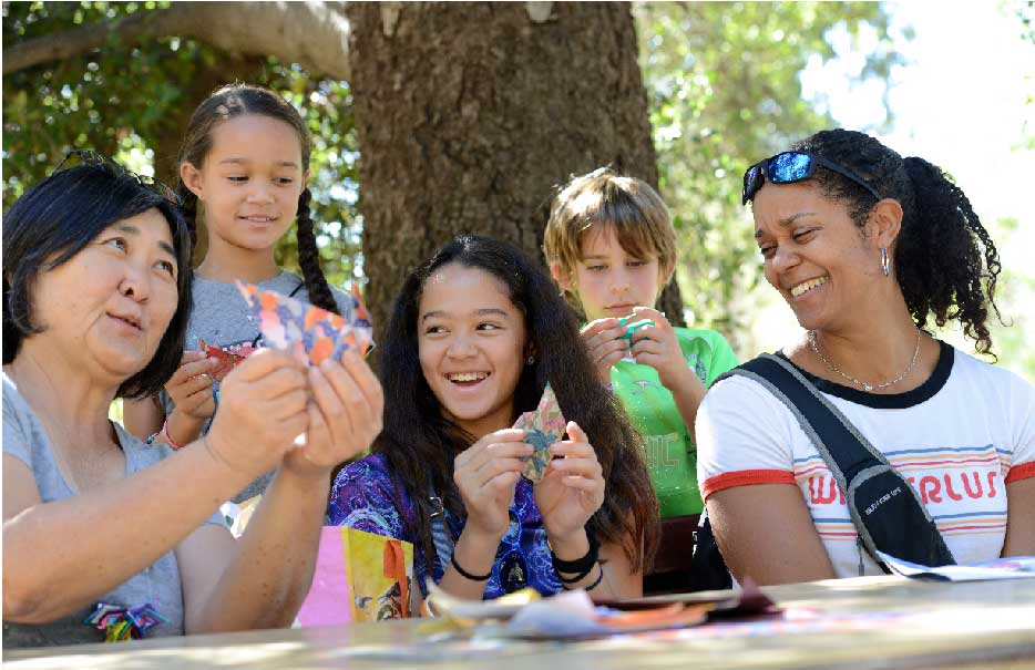 Family Fun Day at Origami in the Garden²
